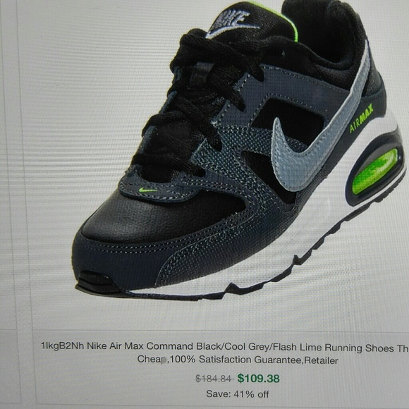 7dae8a37ad Nike Air Max Command shoes, size 6.5Y in Very GUC.  M_5b65d31ac89e1d514d86a5c5